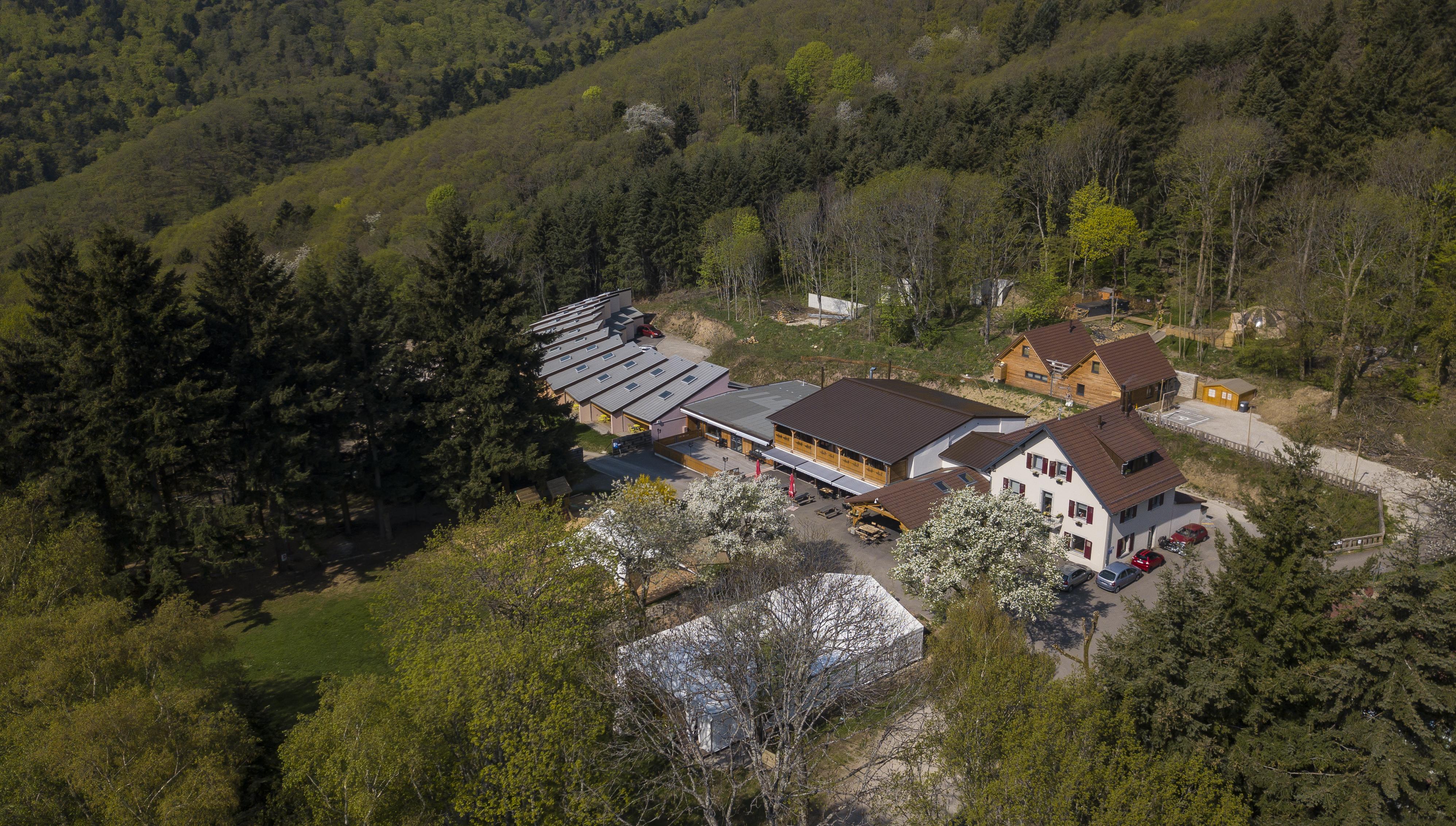 Domaine du Hirtz drone